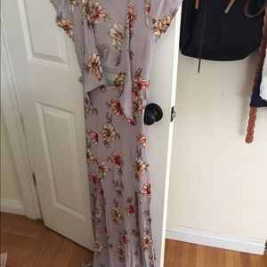 Dresses & Skirts - Lavender floral dress small or size 4 photography